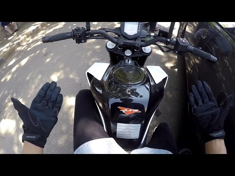 2017 KTM Duke 250 - First Ride and Review. Is it worth the upgrade?