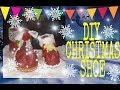 How to make Christmas / Santa Shoes. (DIY CHRISTMAS DECOR)