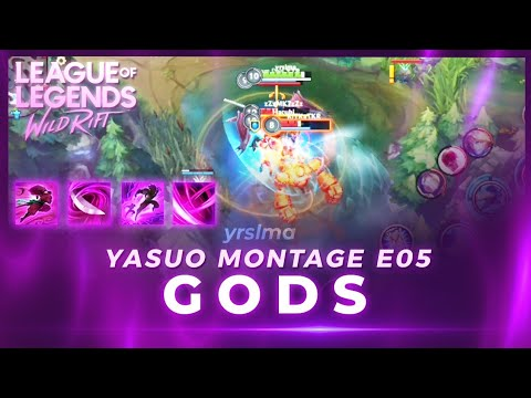 WILD RIFT GODS OF YASUO MONTAGE - @yrslma