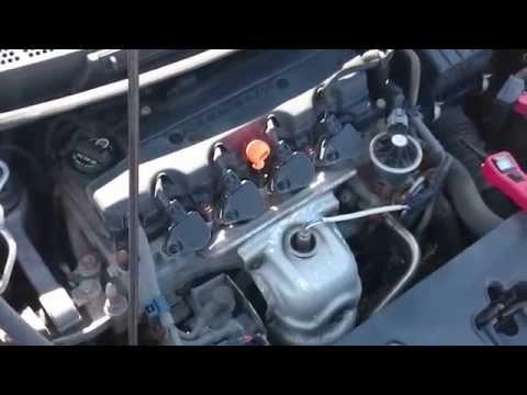 2007 honda civic a c diagnostic and clutch replacment youtube 07 Honda Civic
