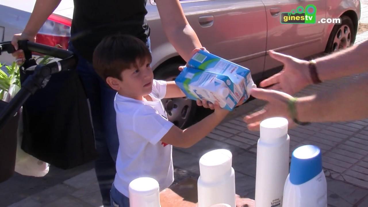 El Cesto Solidario recogió 2.500 kilos de alimentos para ayudar a las familias necesitadas de Gines