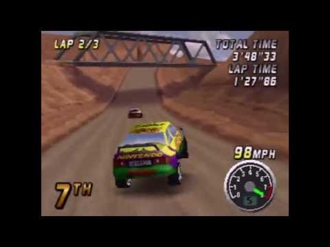 Top Gear Rally Playthrough (Actual N64 Capture) - Part 2