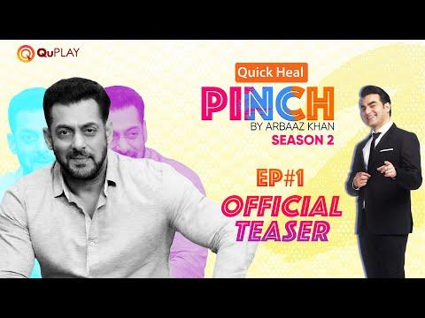 #QuickHealPinch by Arbaaz Khan S2 Ep#1 | Salman Khan | Official Teaser | Releasing on 21st July 2021