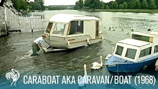 'Caraboat' aka Caravan/Boat: A House You Can Float (1968)   British Pathé