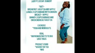 Lady P's 30 day journey: introduction