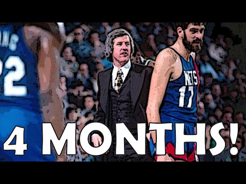 The CRAZY NBA game from 1978 that took more than 4 months to finish!