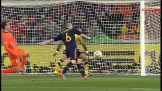 видео Испания 1-0 Нидерланды - Финал Чемпионата Мира 2010 HD