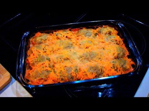 Голубцы с мясом и рисом - калорийность, состав, описание