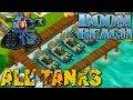 Boom Beach All Tanks Attack Strategy
