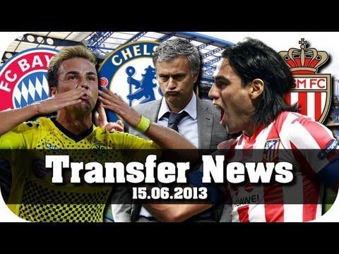 Transfer News #01 [15.06.13] - Falcao zum AS Monaco, Götze nach München, uvm. [Fußball-Talk]
