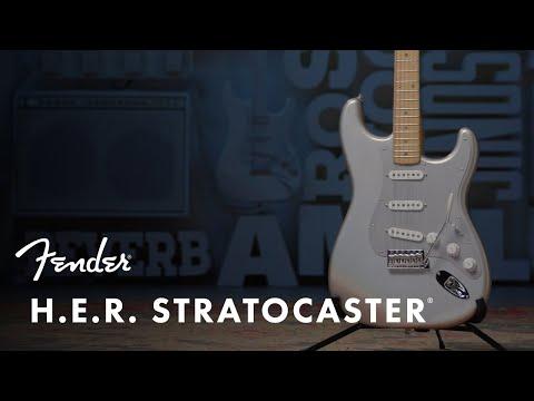 H.E.R. Stratocaster   Artist Signature Series   Fender