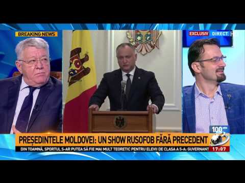 """Preşedintele Republicii Moldova, către autorităţile de la Bucureşti: """"De ce aţi ţinut în a"""