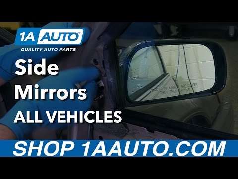 How to Install Replace Side Mirrors on Any Vehicle!