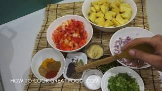 ★★ Sweet Potato Curry Vegan Recipe - वीट पटेटो Shakarkandi masala