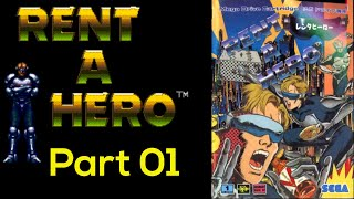 Rent A Hero | Mega Drive Playthrough | Part 01