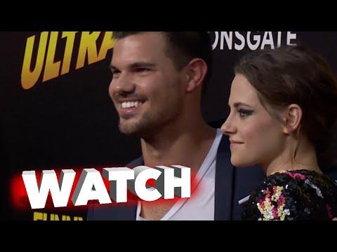 American Ultra: Kristen Stewart Jess Eisenberg, Taylor Lautner & Other Arrive to Premiere