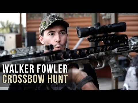 Crossbow Hunting with Yamaha Racer Walker Fowler