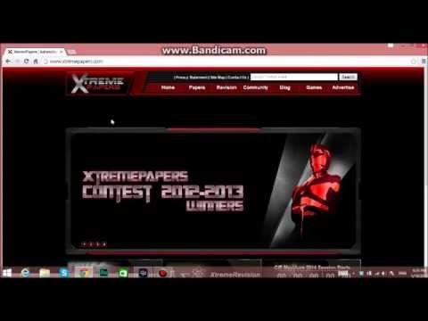 How To Open Any Past Papers On Xtremepapers com