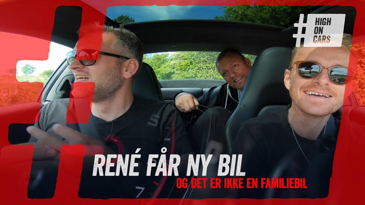 René har fået ny bil - To blæsere og seks du ved nok. Og ja - selvfølgelig er den leaset!