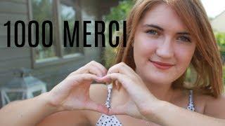 1000 MERCI | Ce que vas devenir ma chaîne + ouverture du Blog
