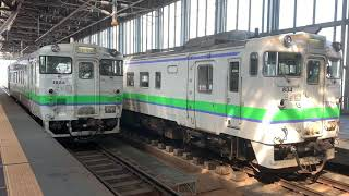 キハ40-1824 回送列車 旭川駅発車