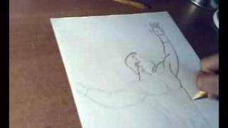How to draw Randy Orton