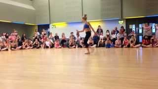 chloe lukasiak-almost lover (performed in manchester)