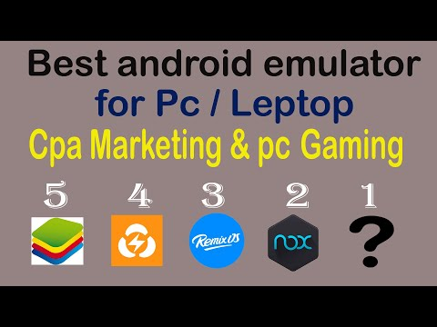 Best Free Android Emulator PhoenixOS setup | CPA Free Dating Traffic Source 2020 from YouTube · Duration:  5 minutes 57 seconds