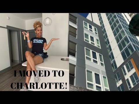 I MOVED TO CHARLOTTE! | Unfurnished Apartment Tour