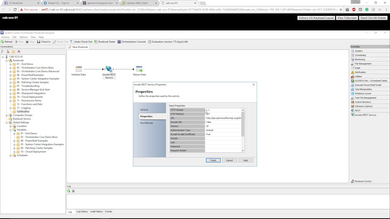 Getting Started With System Center Orchestrator And Rest Apis