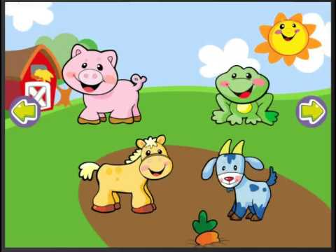 Video Walkthrough | Fisher Price Laugh & Learn Animal App | Level 2
