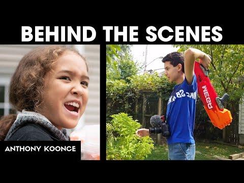 Behind The Scenes Of 'Backyard Showdown'