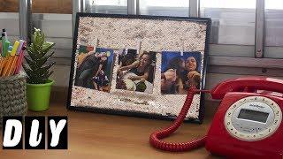 Como Fazer Quadro Decorativo com Fotos #CARADELOJA