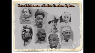 TOP 50 FREEDOM FIGHTERS IN INDIA