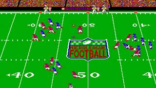 MicroLeague Football: The Coach's Challenge (MicroLeague) (MS-DOS) [1990] [PC Longplay]