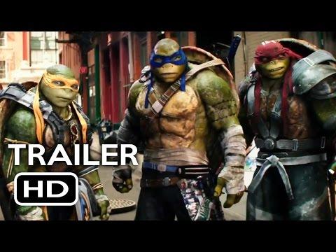Teenage Mutant Ninja Turtles 2 Official Trailer #1 (2016) Megan Fox Action Movie HD