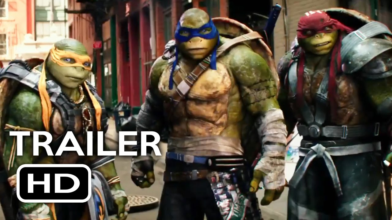 Teenage Mutant Ninja Turtles 2 Official Trailer #1 (2016) Megan Fox Action Movie HD