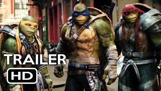Repeat youtube video Teenage Mutant Ninja Turtles 2 Official Trailer #1 (2016) Megan Fox Action Movie HD