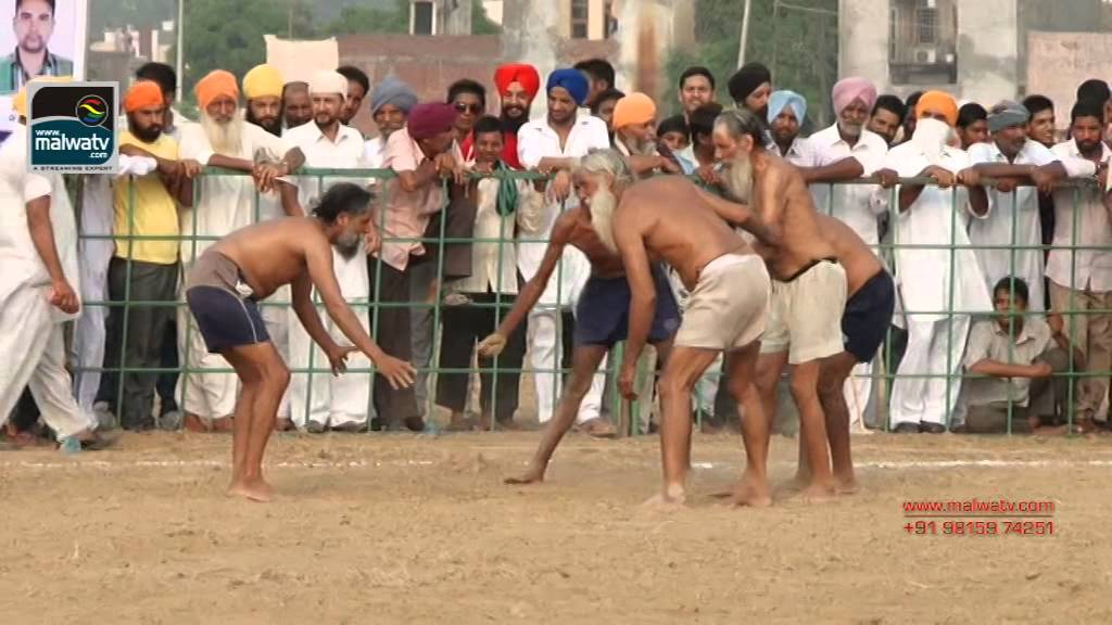 KHAIRABAD (Amritsar) Kabaddi Tournament - September 2014.