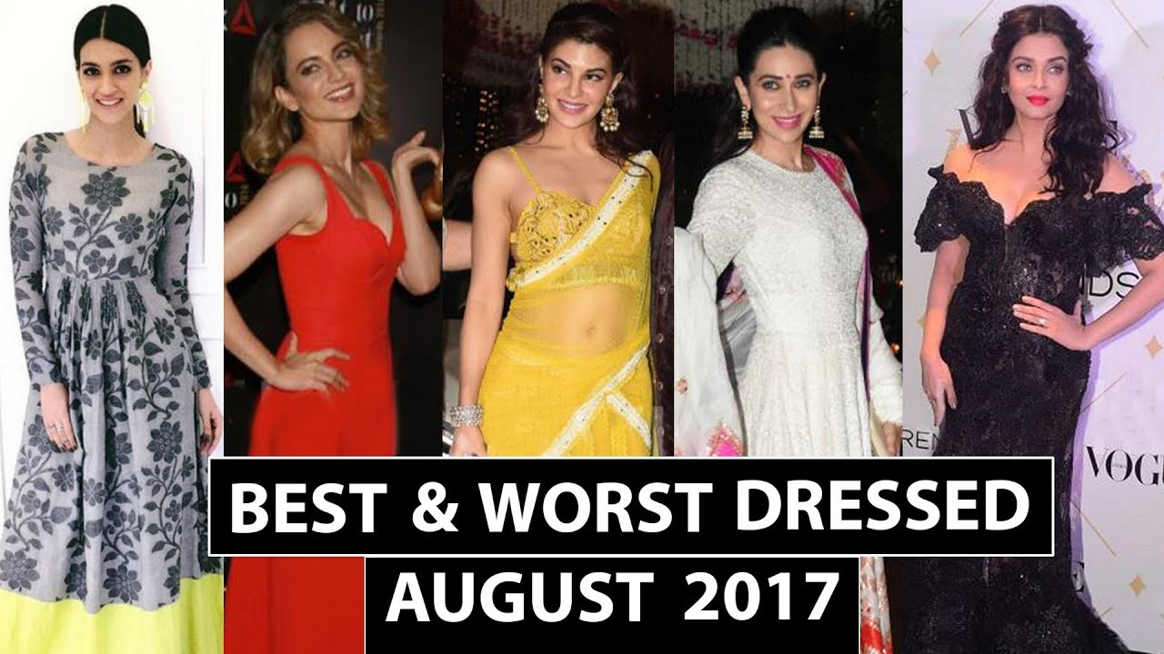 Karisma Kapoor, Priyanka Chopra, Sonam Kapoor : Best and Worst Dressed of August 2017