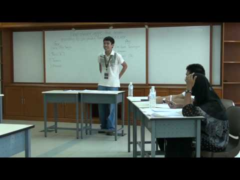 IIUM 9th Inter-school Debate: Part 1 Double Octo