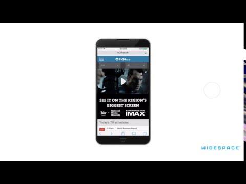 Video Takeover Split National Media Museum IMAX - UK