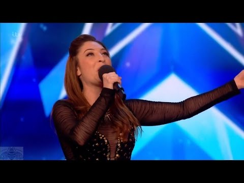Britain's Got Talent 2017 Jess Robinson Impressionist Singer Full Audition S11E01
