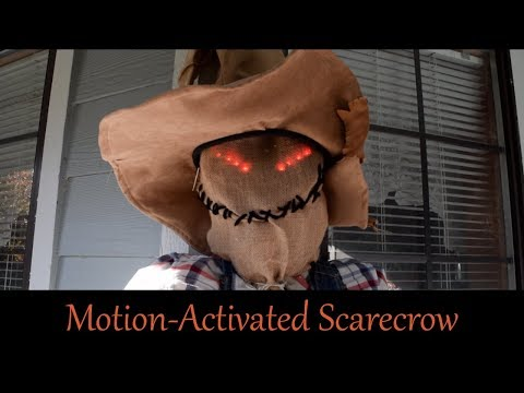 Build Your Own: Motion-Activated Scarecrow
