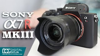 Sony Alpha a7R III Full-frame Mirrorless Camera | Unboxing & Overview