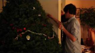Family Christmas Tree Trimming And Salmon In Canada (2010)
