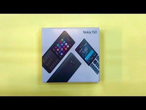 Nokia 150 Unboxing