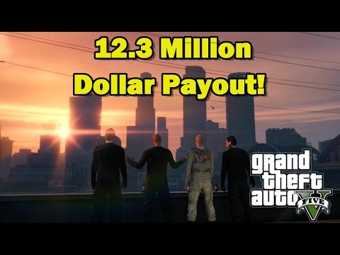 GTA 5 The Pacific Standard Job (HARD) 12 3 Million Dollar Pa