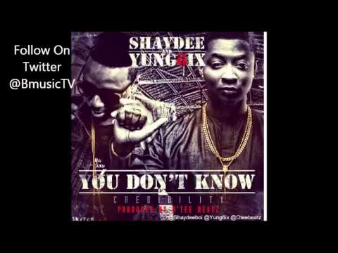 Shaydee & Yung6ix - You Don't Know (Credibility)