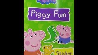 Peppa Pig: Piggy Fun Sticker Book